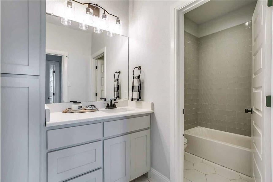 Bathroom #2 of this 4-Bedroom,2390 Sq Ft Plan -142-1231