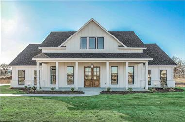 4-Bedroom, 2390 Sq Ft Farmhouse Home - Plan #142-1231 - Front Exterior