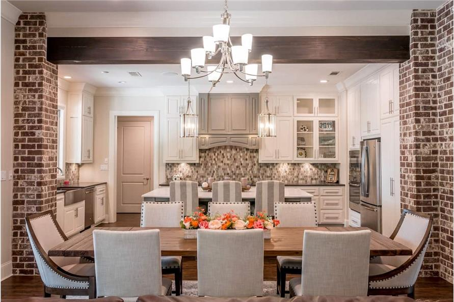Dining Room of this 3-Bedroom,2553 Sq Ft Plan -142-1233