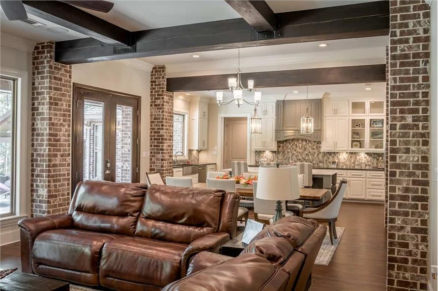 Great Room of this 3-Bedroom,2553 Sq Ft Plan -142-1233