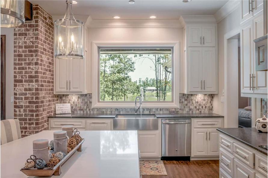 Kitchen of this 3-Bedroom,2553 Sq Ft Plan -142-1233