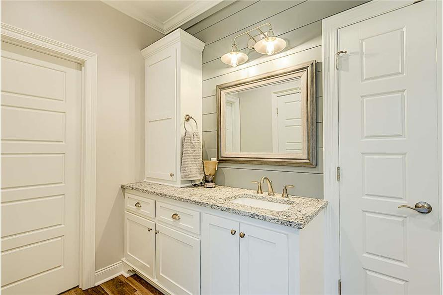 Master Bathroom: Sink/Vanity of this 4-Bedroom,2095 Sq Ft Plan -142-1237