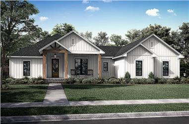 3-Bedroom, 2339 Sq Ft Contemporary Home - Plan #142-1247 - Main Exterior