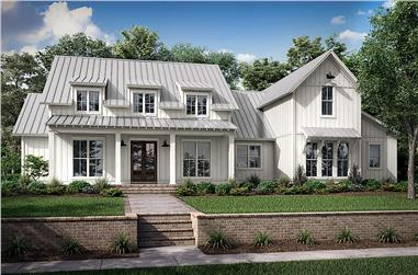 4-Bedroom, 2989 Sq Ft Farmhouse Home - Plan #142-1261 - Main Exterior