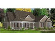 Main image for house plan # 17844