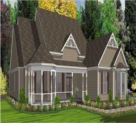 House Plan #144-1001