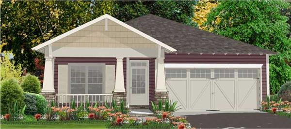 Main image for house plan # 17821