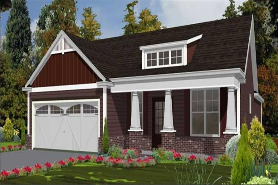 3-Bedroom, 1787 Sq Ft Cape Cod Home Plan - 144-1006 - Main Exterior