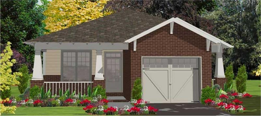 Main image for house plan # 17819