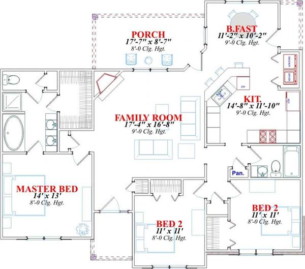 HOUSE PLAN STAPLETON
