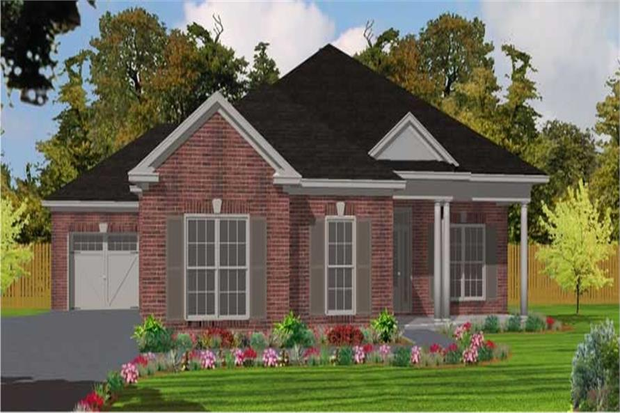 3-Bedroom, 2025 Sq Ft Ranch House Plan - 144-1011 - Front Exterior