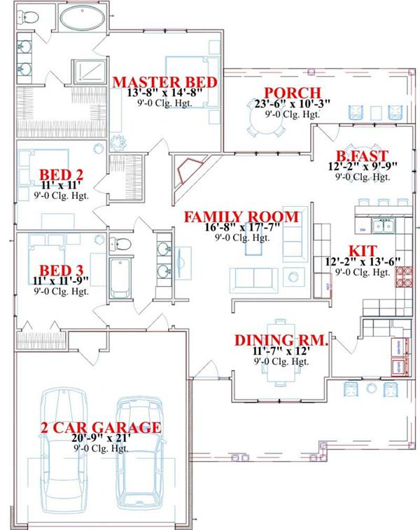 HOME PLAN FULLERTON