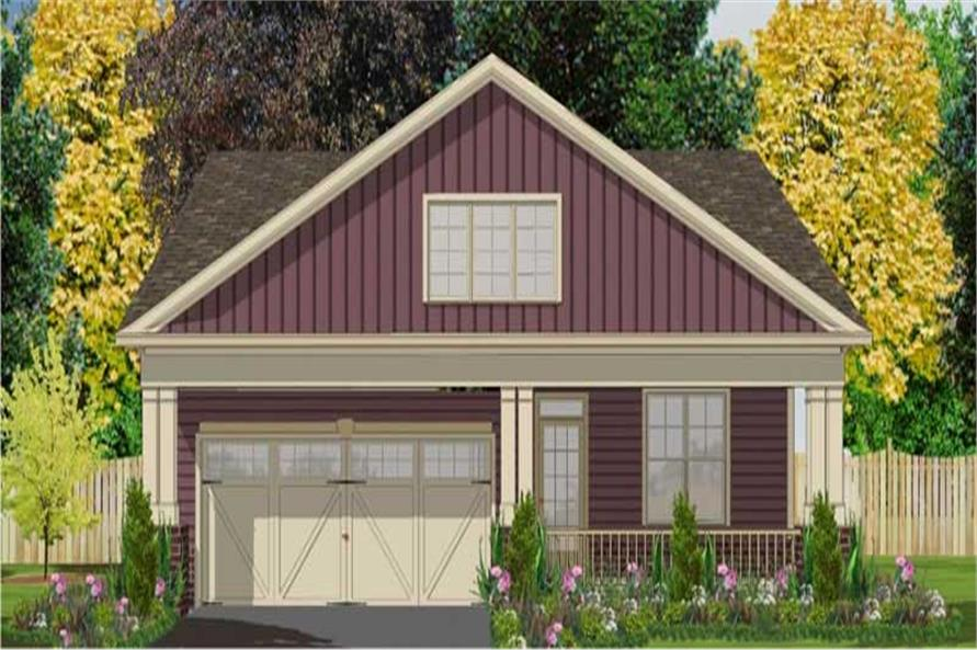 3-Bedroom, 1799 Sq Ft Small House Plans - 144-1016 - Main Exterior