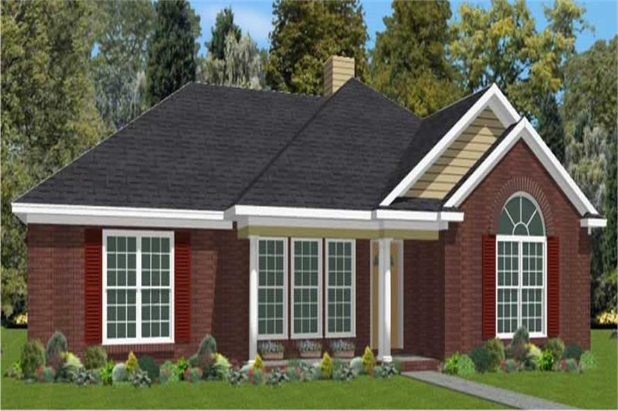 Main image for house plan # 17771