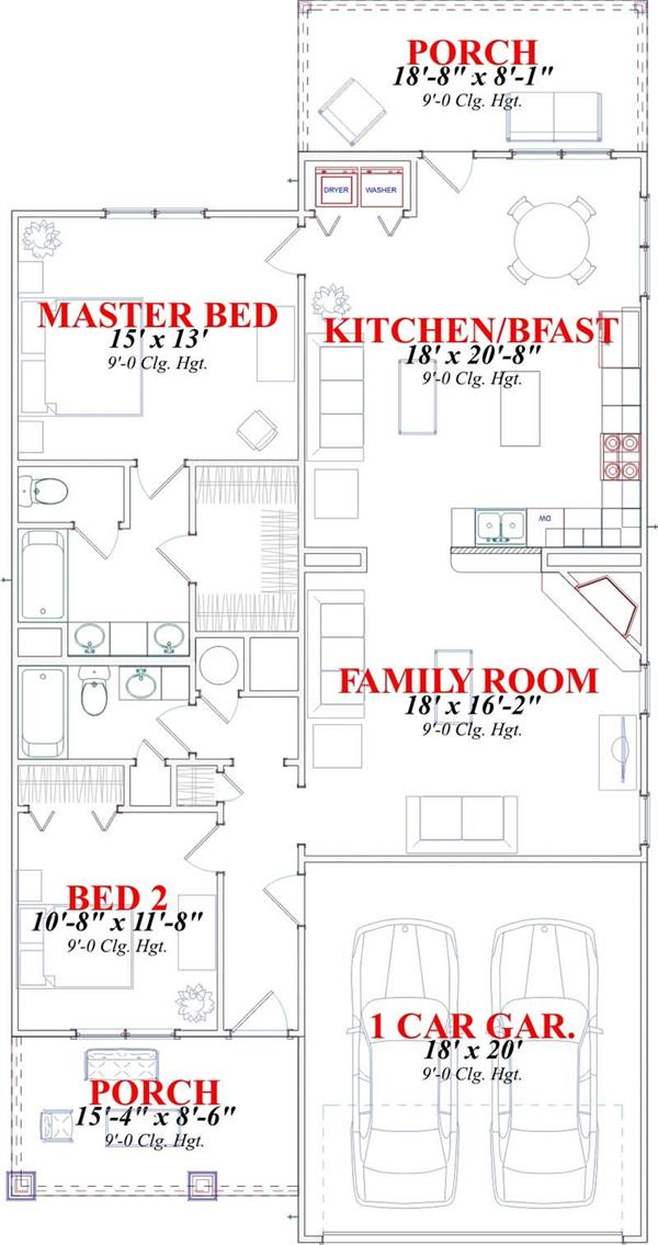 THE OLIVIA HOME PLAN