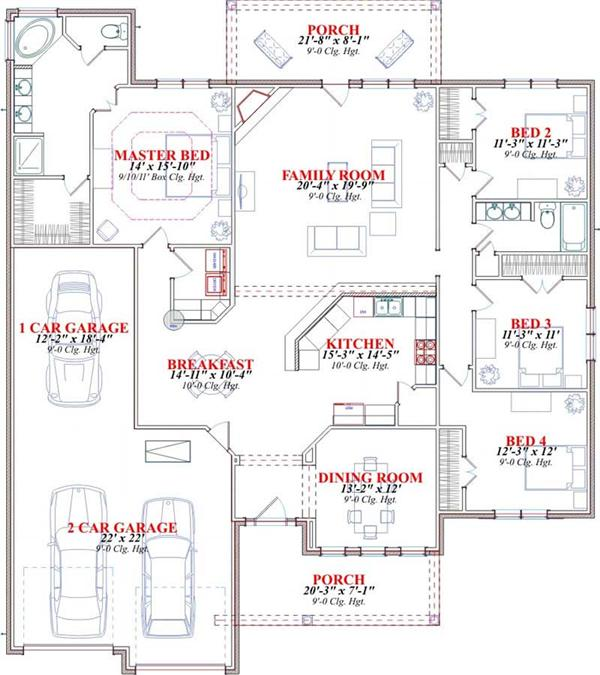 AMHURST 2 HOME PLAN