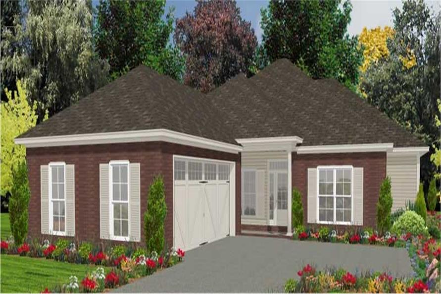 Main image for house plan # 17842