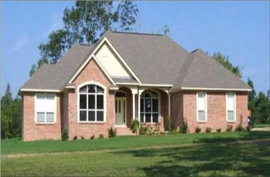 4-Bedroom, 2481 Sq Ft Ranch Home Plan - 144-1029 - Main Exterior