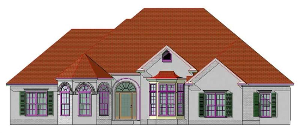 Main image for house plan # 17753