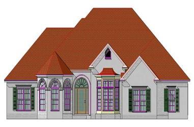 4-Bedroom, 2540 Sq Ft Craftsman Home Plan - 144-1030 - Main Exterior