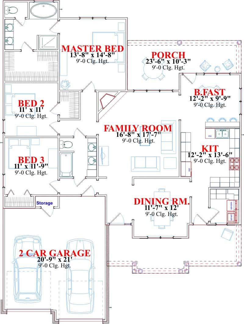 FULLERTON HOUSE PLAN