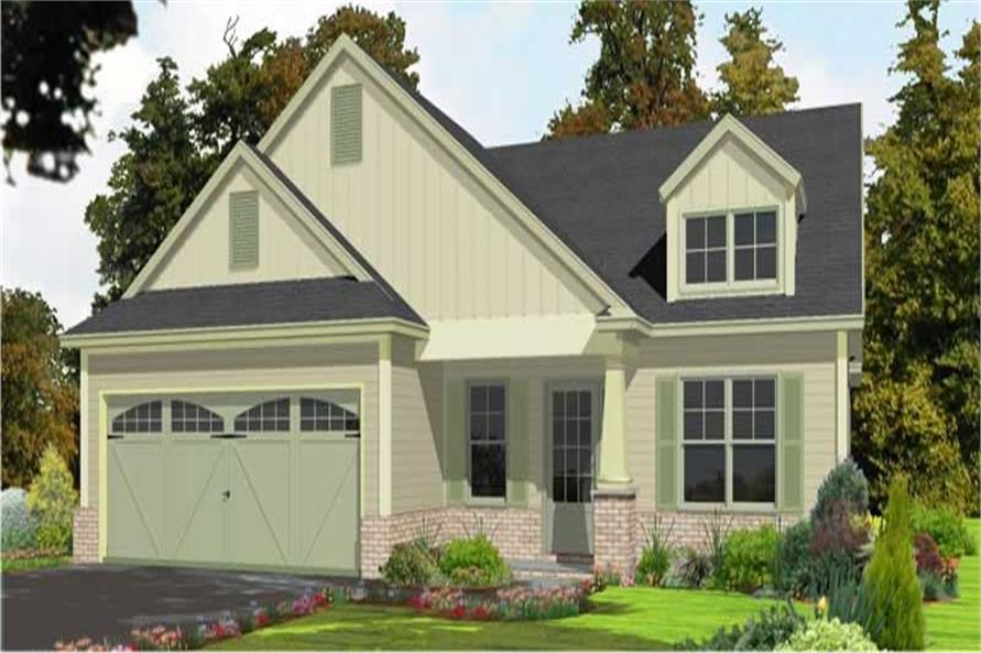 Main image for house plan # 17801