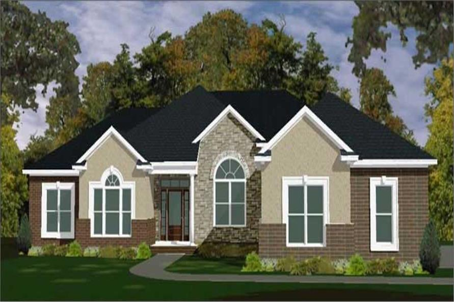 Main image for house plan # 17799