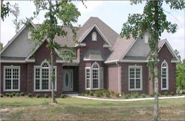 4-Bedroom, 2349 Sq Ft Contemporary Home Plan - 144-1040 - Main Exterior