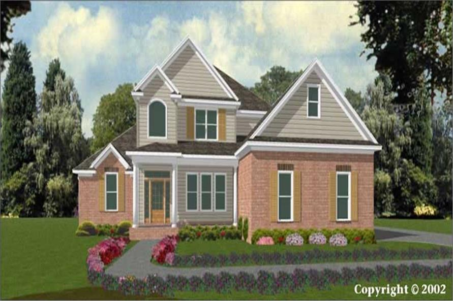 Main image for house plan # 11316