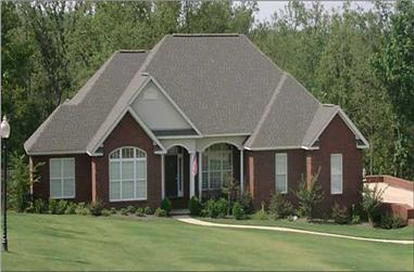 4-Bedroom, 2293 Sq Ft Contemporary House Plan - 144-1046 - Front Exterior