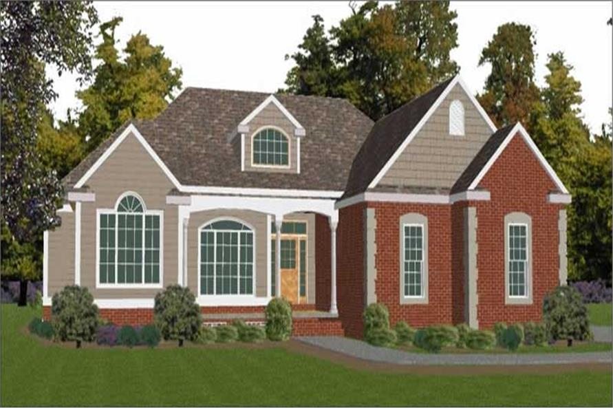 5-Bedroom, 3257 Sq Ft Contemporary House Plan - 144-1052 - Front Exterior