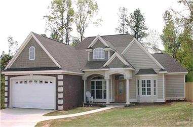 4-Bedroom, 1868 Sq Ft Contemporary House Plan - 144-1054 - Front Exterior