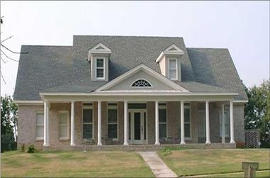 4-Bedroom, 2590 Sq Ft Country House Plan - 144-1056 - Front Exterior