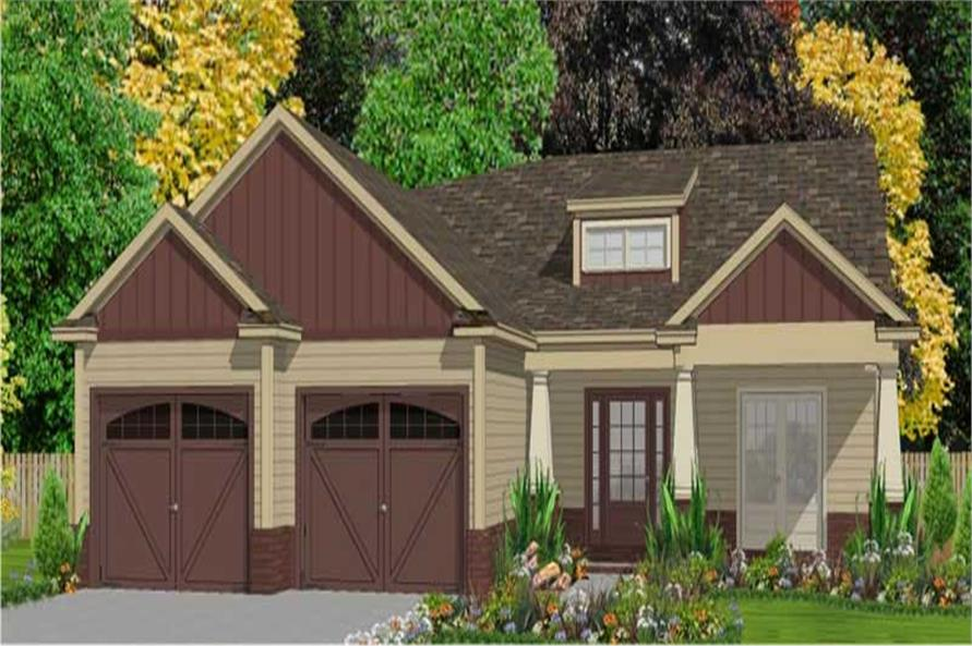 3-Bedroom, 1730 Sq Ft Small House Plans - 144-1058 - Main Exterior