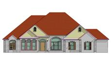 Main image for house plan # 17760
