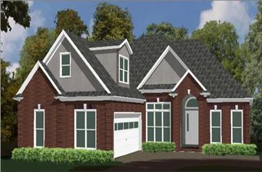 4-Bedroom, 1918 Sq Ft Ranch House Plan - 144-1063 - Front Exterior