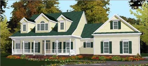 Main image for house plan # 17764