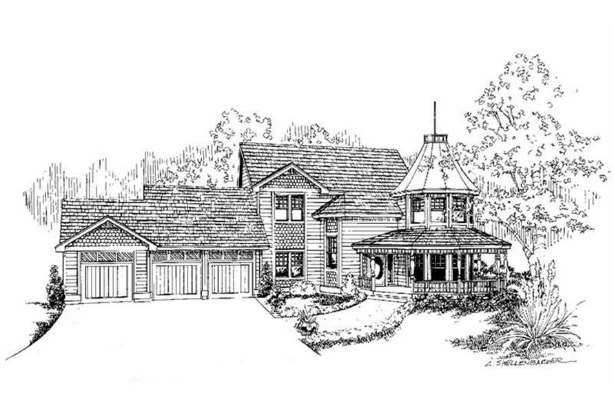 Main image for house plan # 3604