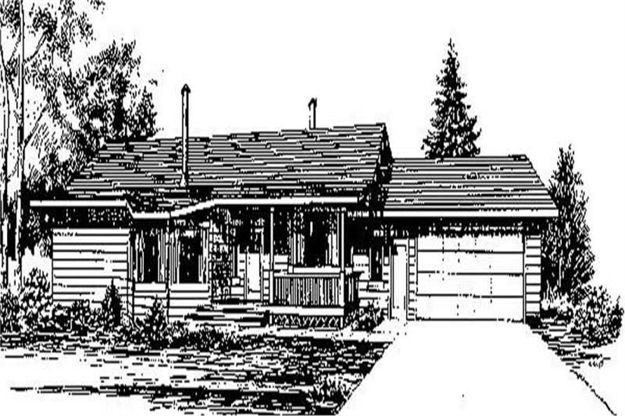 Main image for house plan # 6729