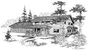 View house Plan#145-1009