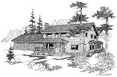 6-Bedroom, 3075 Sq Ft Country House Plan - 145-1009 - Front Exterior