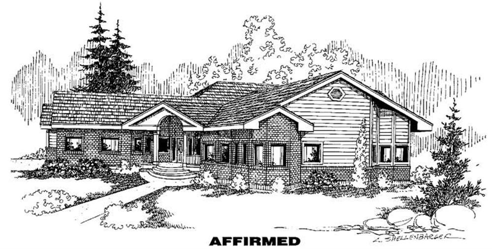 Main image for house plan # 3602