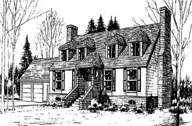 3-Bedroom, 2798 Sq Ft Traditional Home Plan - 145-1013 - Main Exterior