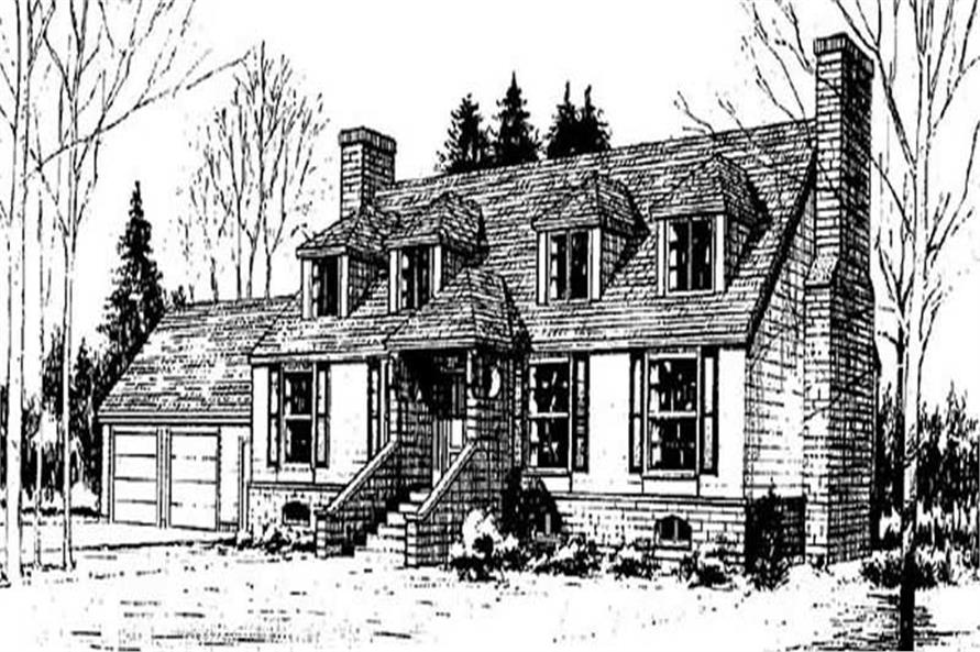 Main image for house plan # 6734