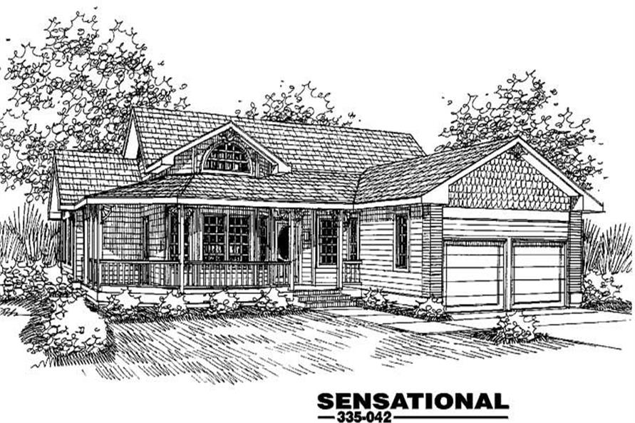 Main image for house plan # 3599