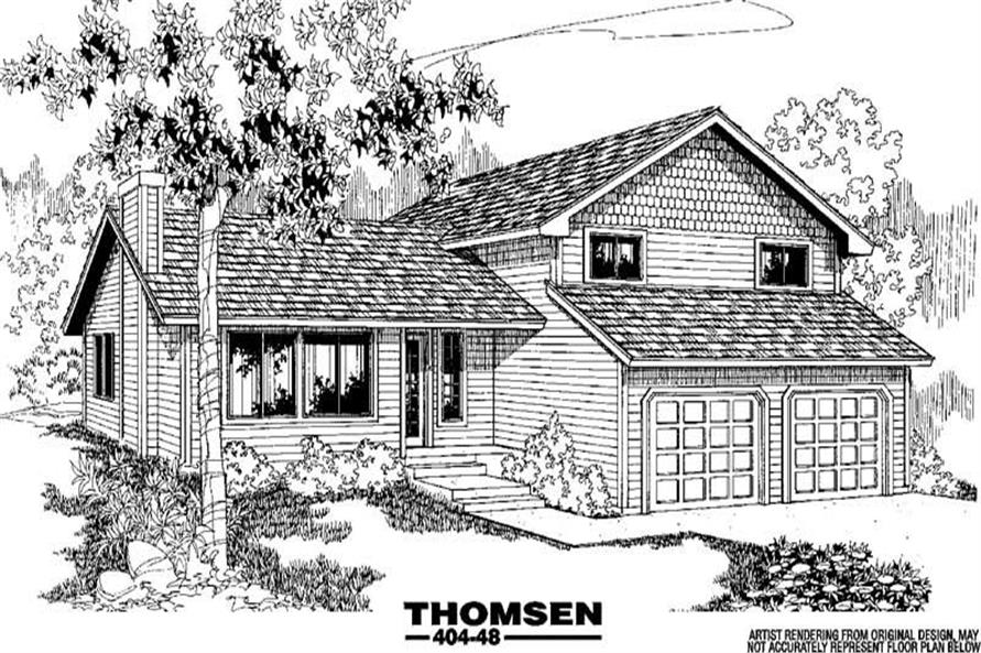 Main image for house plan # 5782