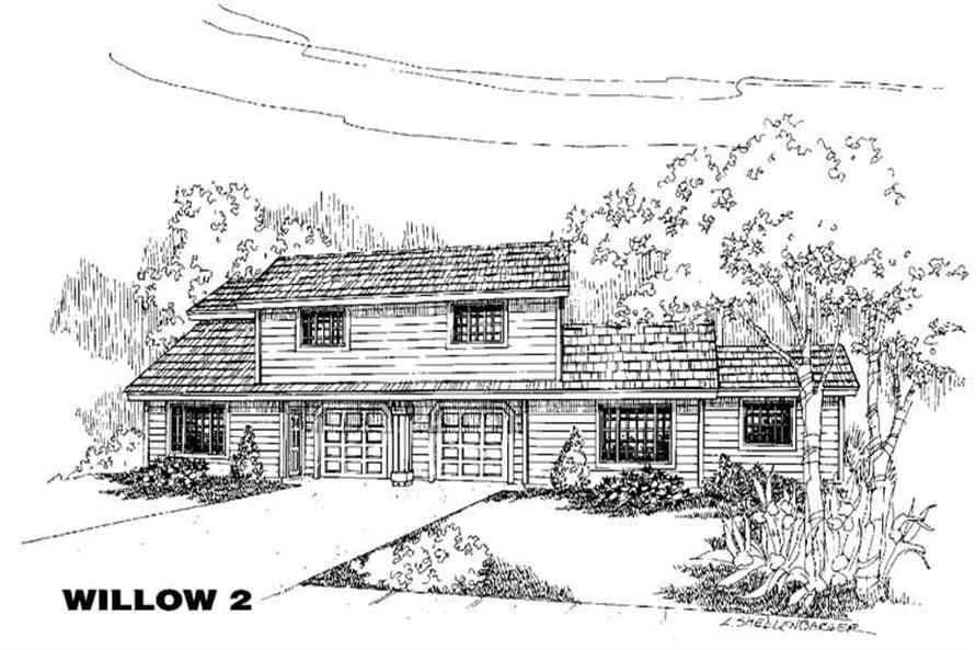 Main image for house plan # 5783