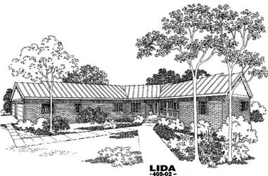 Main image for house plan # 5789