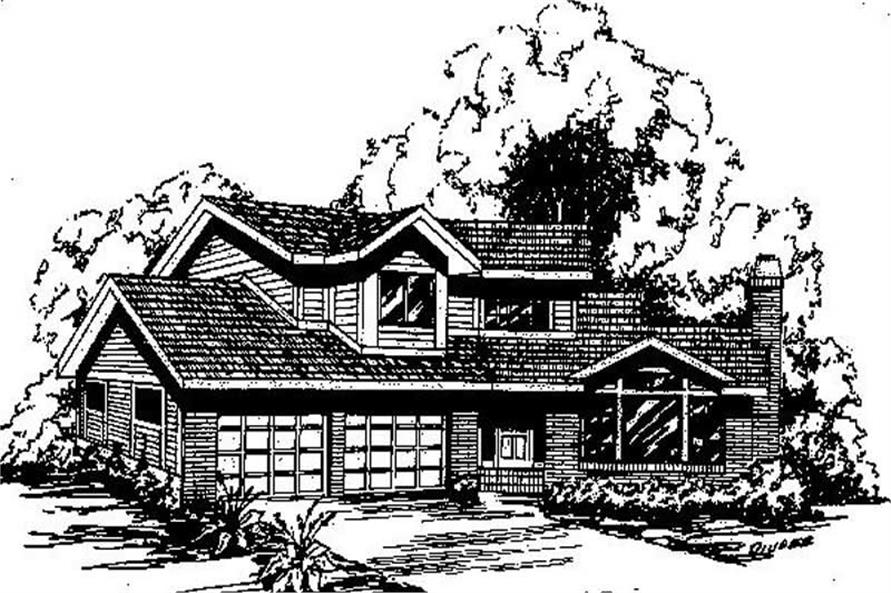 Main image for house plan # 6697
