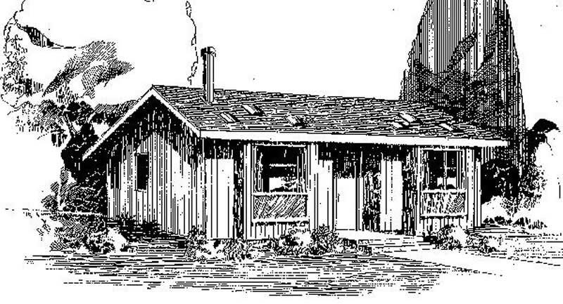 Small ranch cabins house plans home design bayou 6665 for Bayou cottage house plan